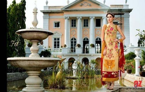 Tabassum Mughal Lawn Dresses 2015 (27)