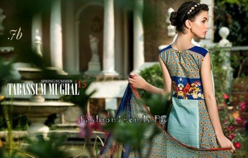Tabassum Mughal Lawn Dresses 2015 (30)