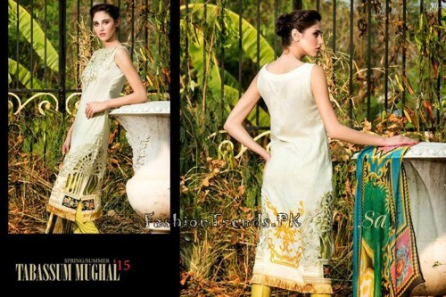 Tabassum Mughal Lawn Dresses 2015 (34)