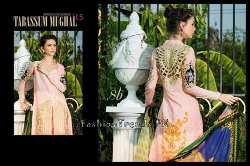Tabassum Mughal Lawn Dresses 2015 (36)