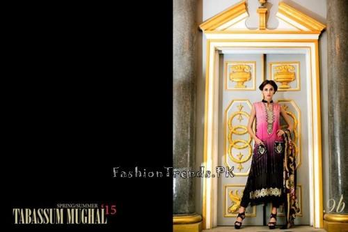 Tabassum Mughal Lawn Dresses 2015 (39)