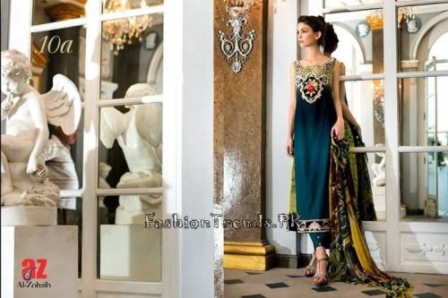 Tabassum Mughal Lawn Dresses 2015 (41)
