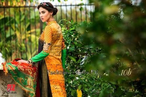Tabassum Mughal Lawn Dresses 2015 (43)