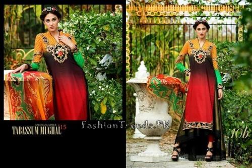 Tabassum Mughal Lawn Dresses 2015 (44)