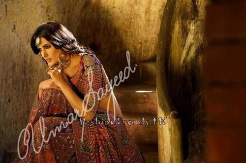 Umar Sayeed Ghagra Choli Collection 2015 (1)