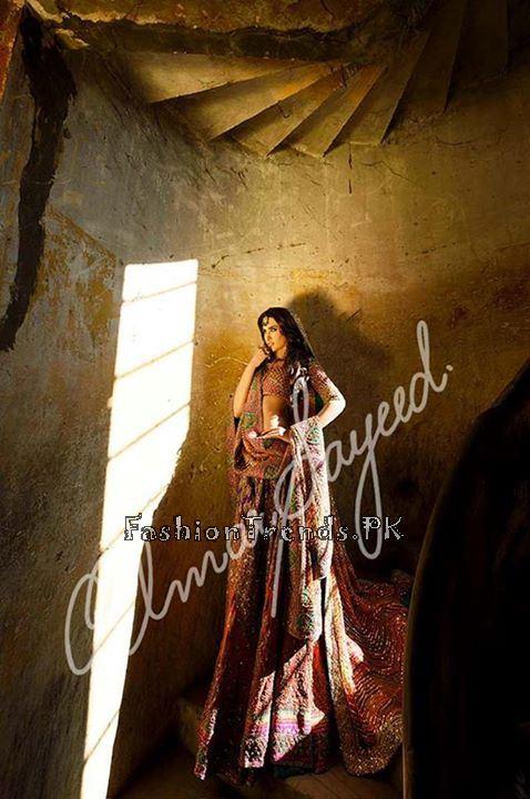 Umar Sayeed Ghagra Choli Collection 2015 (3)