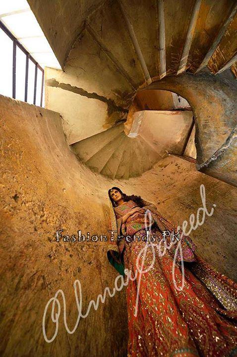 Umar Sayeed Ghagra Choli Collection 2015 (4)