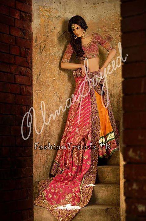 Umar Sayeed Ghagra Choli Collection 2015 (6)