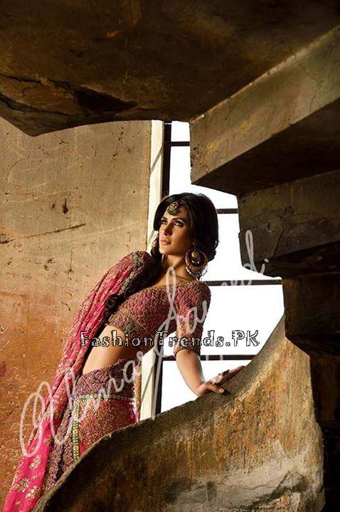 Umar Sayeed Ghagra Choli Collection 2015 (8)
