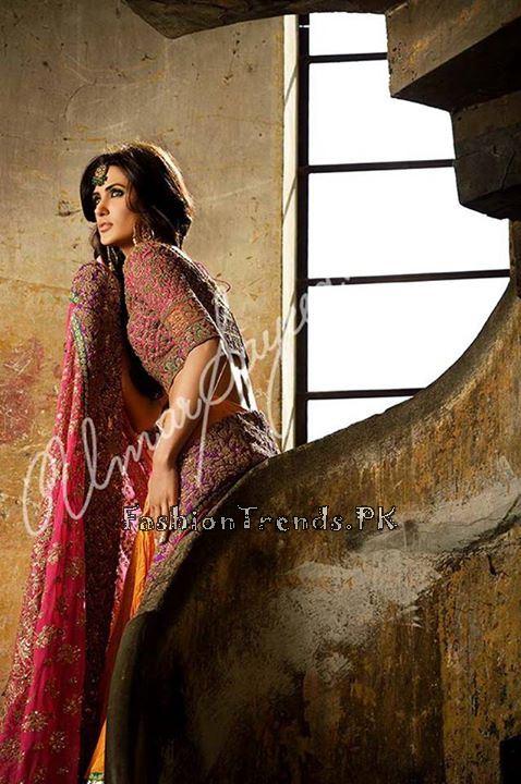 Umar Sayeed Ghagra Choli Collection 2015 (9)