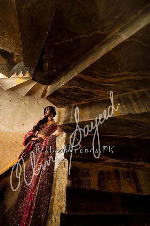 Umar Sayeed Ghagra Choli Collection 2015 (10)