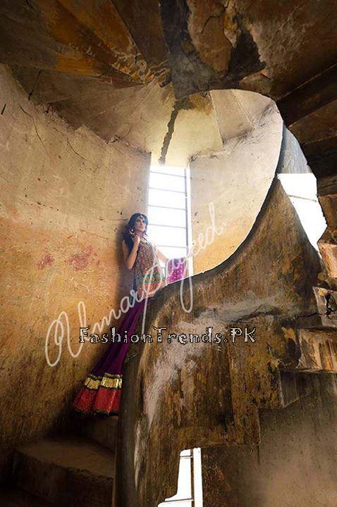 Umar Sayeed Ghagra Choli Collection 2015 (13)