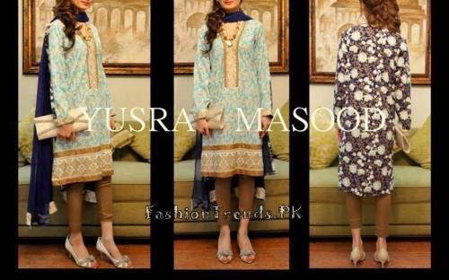 Yusra Masood Summer Lawn Dresses 2015 (1)