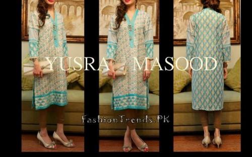 Yusra Masood Summer Lawn Dresses 2015 (2)