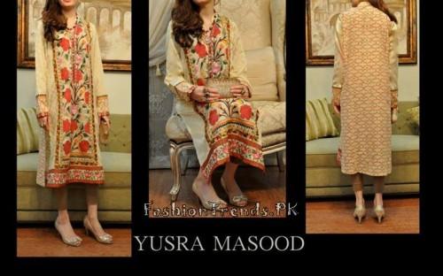 Yusra Masood Summer Lawn Dresses 2015 (3)