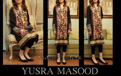 Yusra Masood Summer Lawn Dresses 2015 (5)