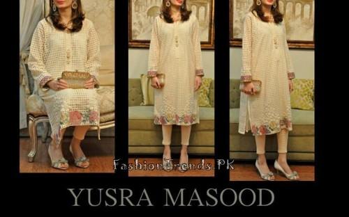 Yusra Masood Summer Lawn Dresses 2015 (8)