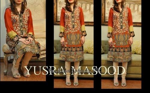 Yusra Masood Summer Lawn Dresses 2015 (10)