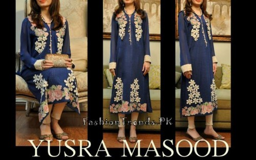 Yusra Masood Summer Lawn Dresses 2015 (11)
