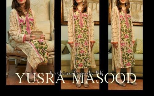 Yusra Masood Summer Lawn Dresses 2015 (12)