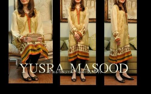 Yusra Masood Summer Lawn Dresses 2015 (13)