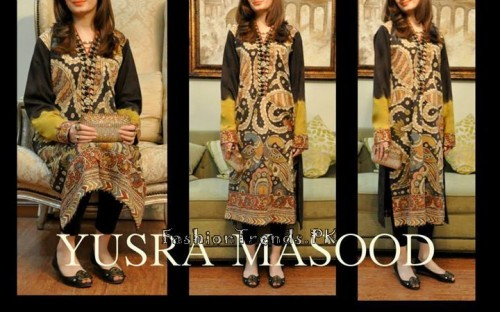 Yusra Masood Summer Lawn Dresses 2015 (14)
