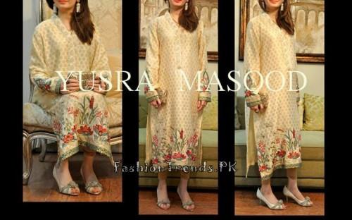 Yusra Masood Summer Lawn Dresses 2015 (17)