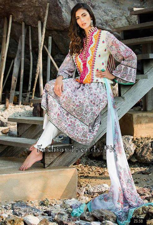 ZS Textile Summer Lawn Dresses 2015 (2)