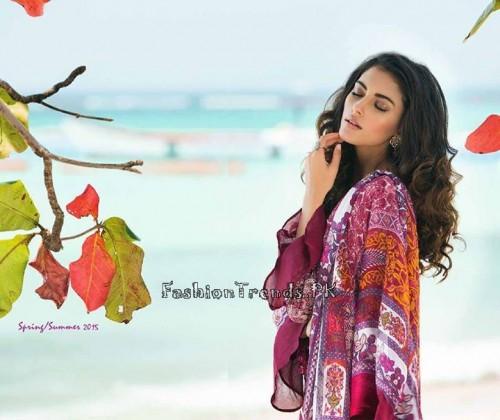 ZS Textile Summer Lawn Dresses 2015 (3)