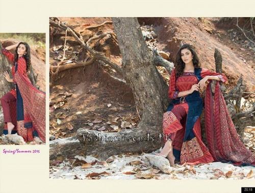ZS Textile Summer Lawn Dresses 2015 (5)