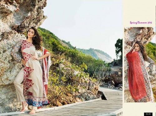 ZS Textile Summer Lawn Dresses 2015 (6)