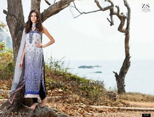 ZS Textile Summer Lawn Dresses 2015 (9)