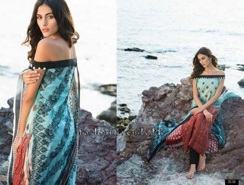 ZS Textile Summer Lawn Dresses 2015 (10)