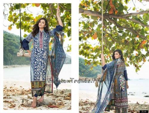 ZS Textile Summer Lawn Dresses 2015 (11)