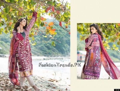 ZS Textile Summer Lawn Dresses 2015 (12)