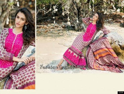 ZS Textile Summer Lawn Dresses 2015 (14)