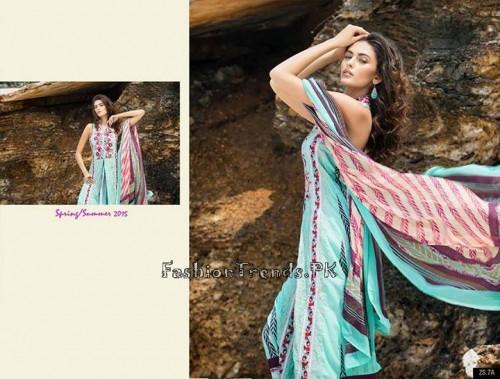 ZS Textile Summer Lawn Dresses 2015 (16)