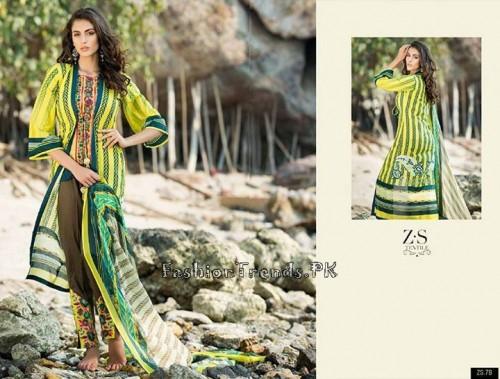 ZS Textile Summer Lawn Dresses 2015 (17)
