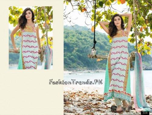 ZS Textile Summer Lawn Dresses 2015 (18)