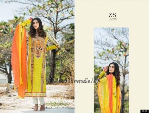 ZS Textile Summer Lawn Dresses 2015 (19)
