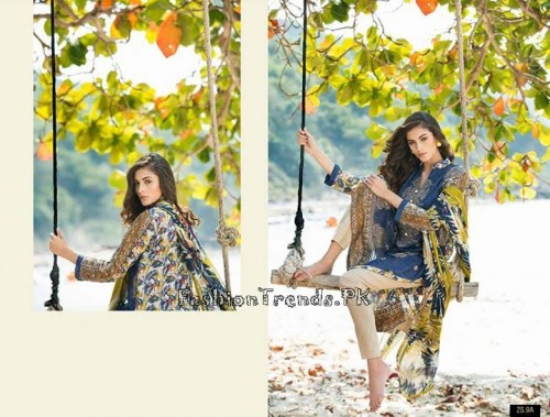 ZS Textile Summer Lawn Dresses 2015 (20)