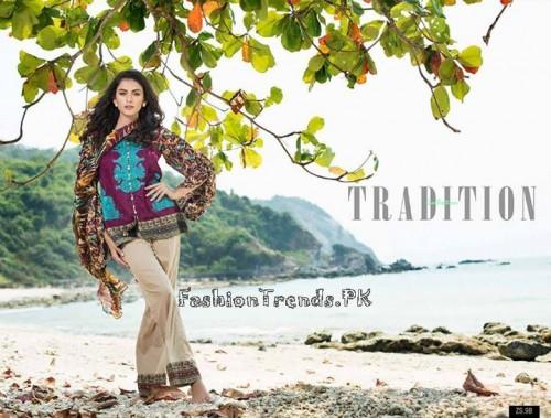ZS Textile Summer Lawn Dresses 2015 (21)