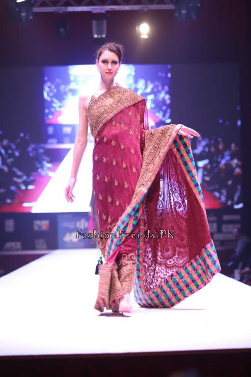 Adnan Pardesy Bridal Collection at 2015 IFF Doha (6)