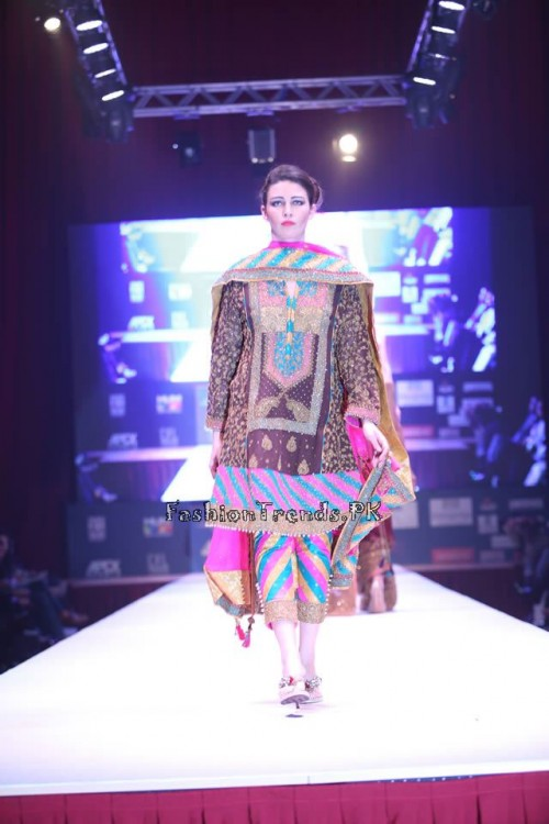 Adnan Pardesy Bridal Collection at 2015 IFF Doha (7)