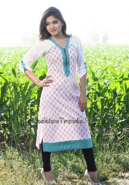 Damak Girls Kurtis 2015 For Summer (3)