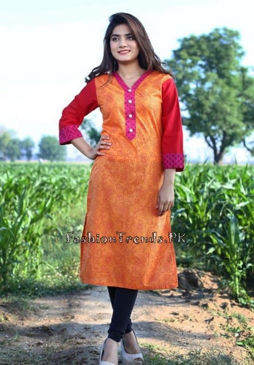 Damak Girls Kurtis 2015 For Summer (4)