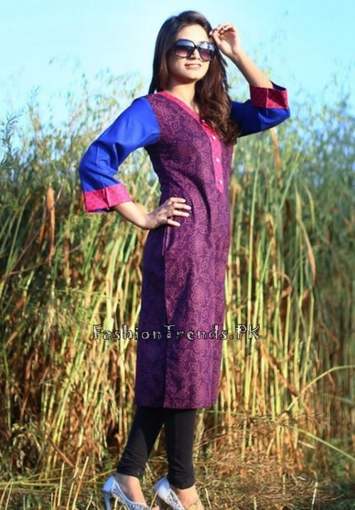 Damak Girls Kurtis 2015 For Summer (6)