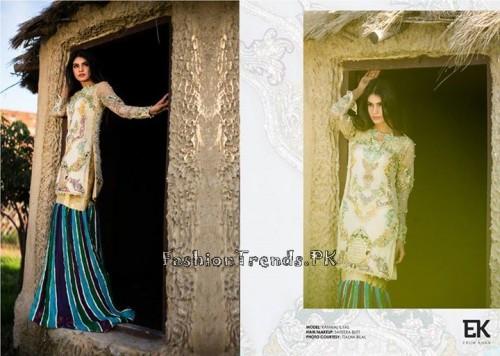 Erum Khan Formal Wear Dresses 2015 (1)