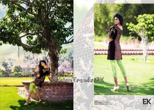 Erum Khan Formal Wear Dresses 2015 (9)
