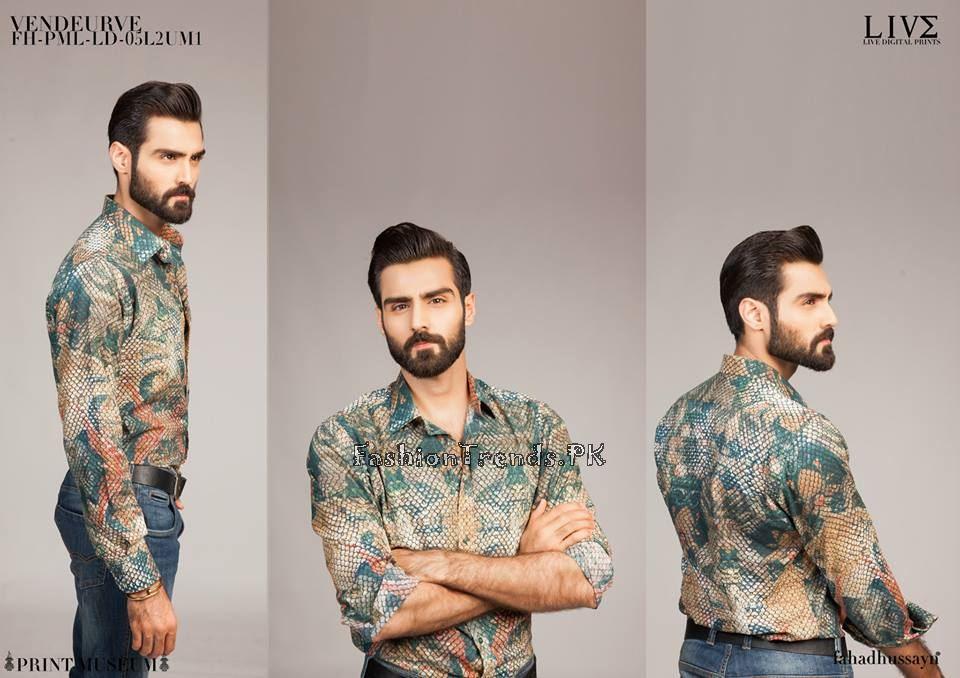 Fahad Hussayn Menswear 2017 For Mid Summer 1